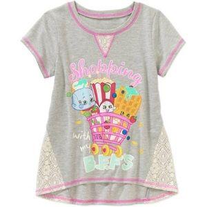 Shopkins Shirts & Tops - Gray Shopkins T-Shirt